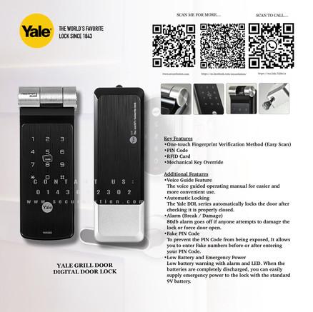 Yale Digital Door Lock YDR50G