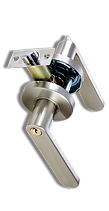 securelution lever cylindrical lock ct6
