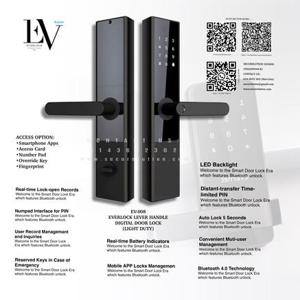 Everlock SCN Digital Door Lock EV008