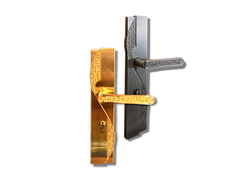Mobile antique back plate lever handle mbaop3