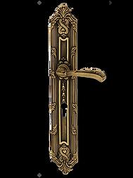 Antique Design Solid Brass On Plate Lever Handle LBR008