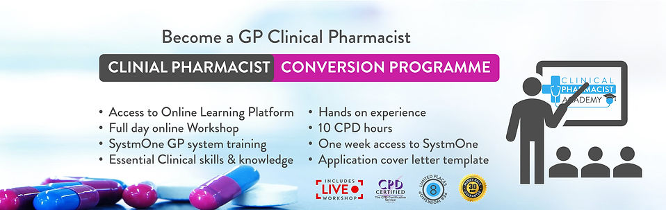 Clinical Pharmacist Conversion Programme