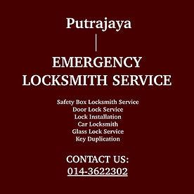 Putrajaya Emergency Locksmith Service