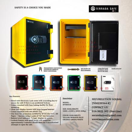 Terrada Safe SFTR001B
