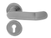 Stainless Steel On Rose Lever Handle DFX009