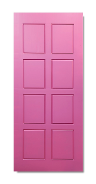 solid timber door norm 10 sexy pink