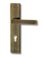 Stainless Steel On Plate Lever Handle DFX001