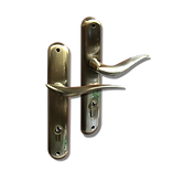 Mobile back plate lever handle mbop5