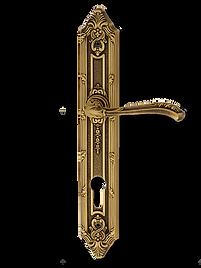 Antique Design Solid Brass On Plate Lever Handle LBR010
