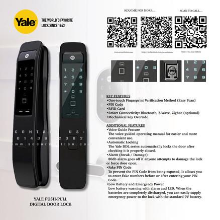 Yale Digital Door Lock YMI70