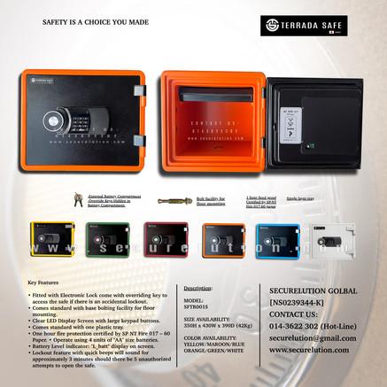 Terrada Safe SFTR001S