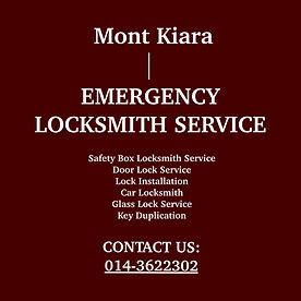 Mont Kiara Emergency Locksmith Service