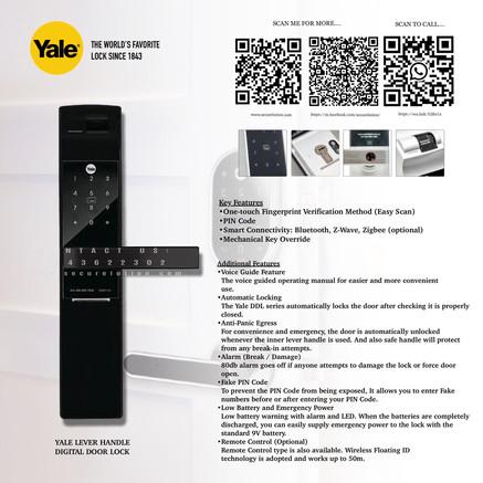 Yale Digital Door Lock YDM7116