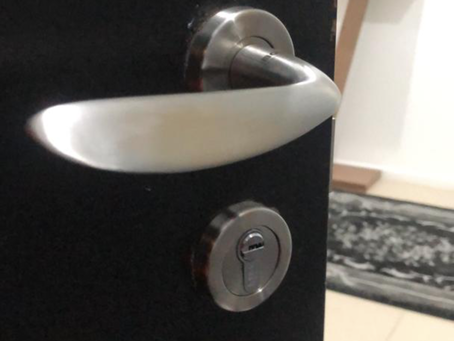 Full Solid Stainless Steel Lever Mortise Lock with Restricted Key