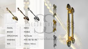 Luxury Solid Brass Pull Handle Antique Design (Kuala Lumpur) MBPH1