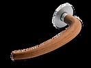 Solid Brass On Rose Lever Handle DL008