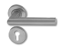 Stainless Steel On Rose Lever Handle DFX001