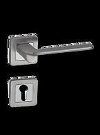 Satin Nickel On Rose Lever Handle NVSOR014