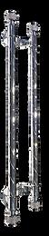 Asterisco crystal pull handle astph2 silver