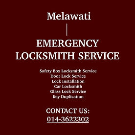 Melawati Emergency Locksmith Service