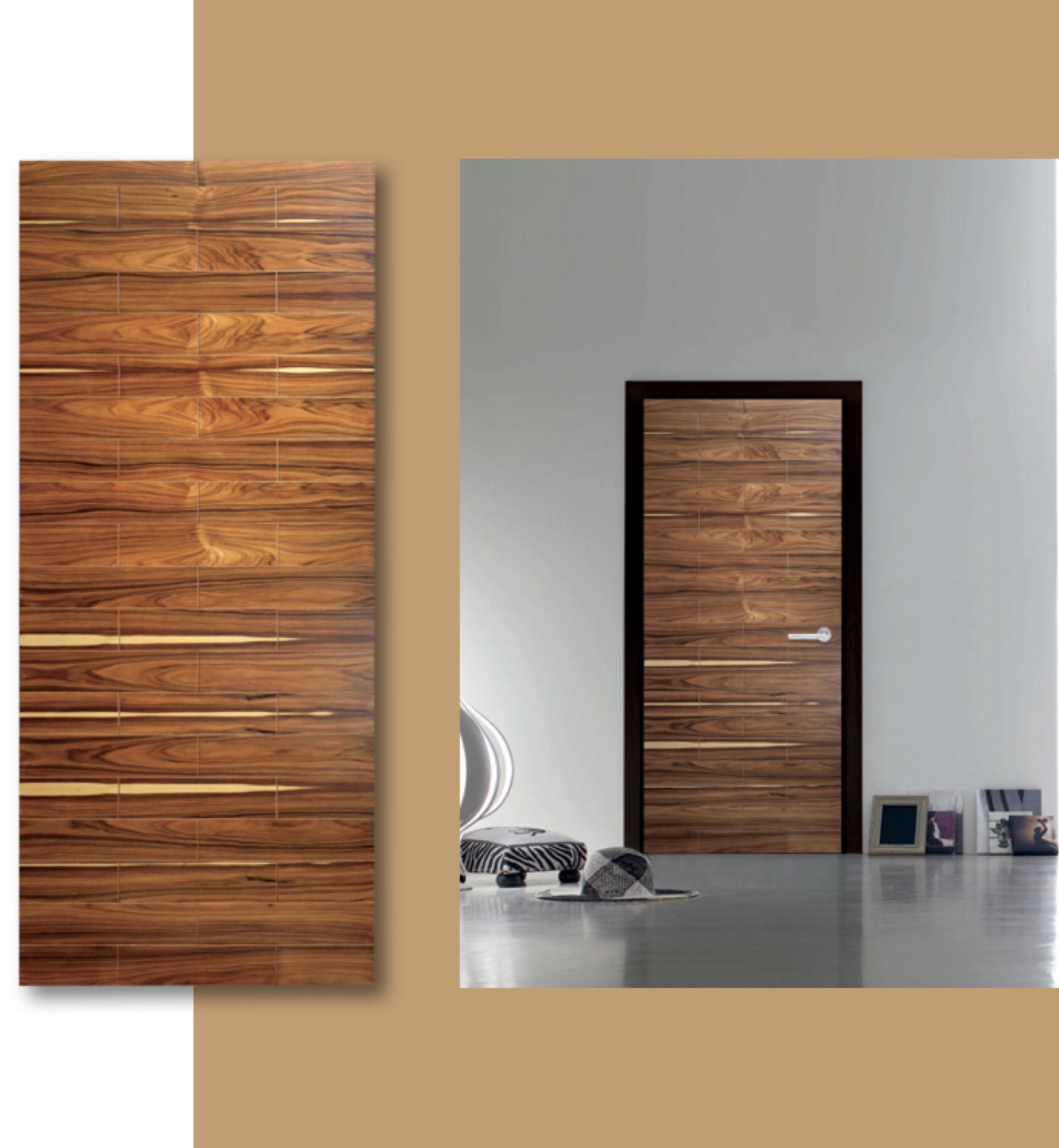 Solid Wood Timber Door