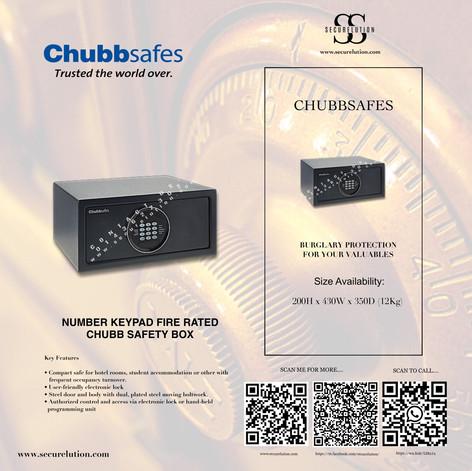 Chubb Air Hotel Safe Box