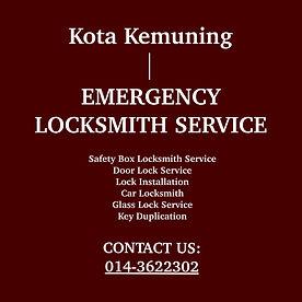 Kota Kemuning Emergency Locksmith Service