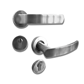 Mobile solid stainless steel lever handle mb30