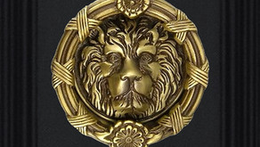 Solid Brass Lion Head Door  Knocker Made In Italy (Kuala Lumpur)