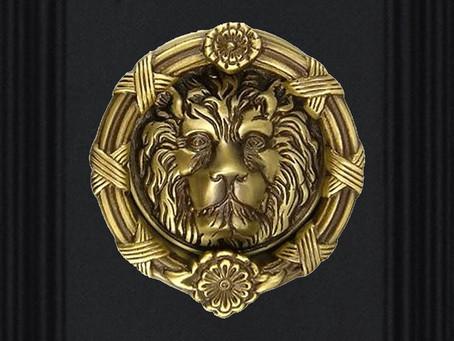 Solid Brass Lion Head Door  Knocker Made In Italy (Kuala Lumpur)
