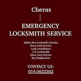 Cheras Emergency Locksmith Service