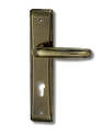 Stainless Steel On Plate Lever Handle DFX007