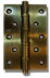 5 inch brass door hinge