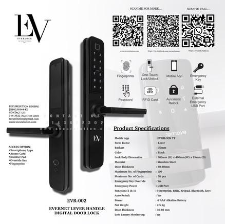 Everlock Digital Door Lock EVR002