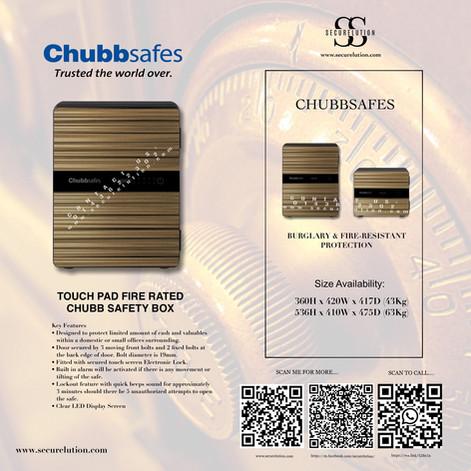 Chubb naomi safety box (Wooden)