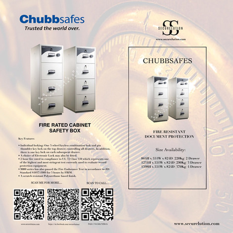 Chubb Drawer Safety Box  RPF5000 Series