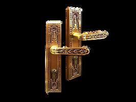 Mobile antique back plate lever handle mbaop9