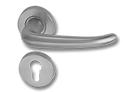 Stainless Steel On Rose Lever Handle DFX002