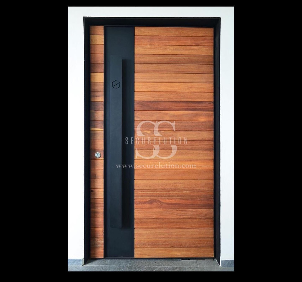 Custom Made Interior Solid Door Design (Kuala Lumpur)