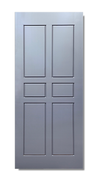 solid timber door norm 7 cloudy grey