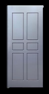 solid timber door norm 7 cloudy grey