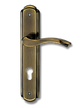 Stainless Steel On Plate Lever Handle DFX004