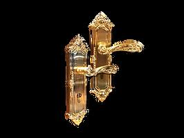 Mobile antique back plate lever handle mbaop1