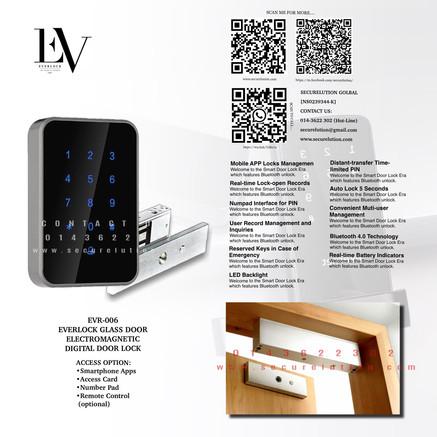 Everlock Digital Door Lock EVR006