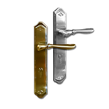Mobile back plate lever handle mbop2