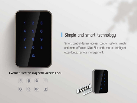 Smart Electric Magnetic (EM) Lock Access Control (Kuala Lumpur)