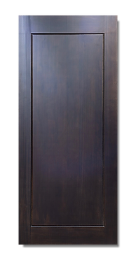 solid timber door norm 40 dark triston
