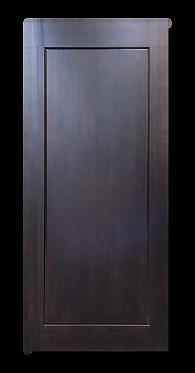 solid timber door norm 40 dark triston