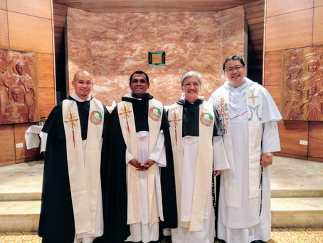 PHILIPPINES  Inaugural Inter-Fraternity National Assembly and Admission of Two Priests from Overseas