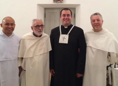The Roman Province receives a Secular Priest into Priestly Fraternity of the Order